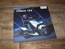 Catalogue /  Brochure HONDA Forza 125 2015 / 2016 //