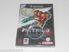 Nintendo Gamecube-metroid prime 2 Echoes-new factory sealed