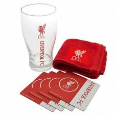 Liverpool FC Mini Bar Set - Latest Beer Glass Set