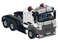 Bauanleitung instruction Truck Mercedes 42043 Eigenbau Unikat Moc Lego Technic