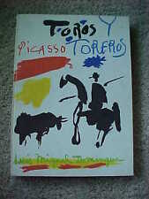 Picasso Toros Y Toreros 1980 Lithographs Book Alpine Fine Arts Collection NY HS