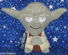 Star Wars Yoda Footzeez Plush Stuffed Doll by Comic Images New with Tags