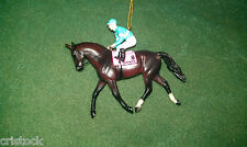 BREYER RACE HORSE CHRISTMAS ORNAMENT - ZENYATTA --- KENTUCKY DERBY NIB