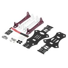 DIY F450 Multi-Copter Quad-copter Frame Kit Upgrade Rack White & Red Arm SHg