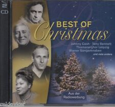 Weihnachten: Best Of Christmas - Johnny Cash, Thomaner, Hermann Prey (2 CDs,NEU)