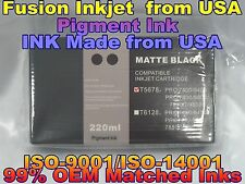 cartridge fit Epson Stylus Pro 7800 9800 Matte black Pigment mbk T5678 ink yu
