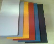 Pertinax 6 mm  500 x 475 mm weiss / rot  Sonderpreis Hartpapier 2061