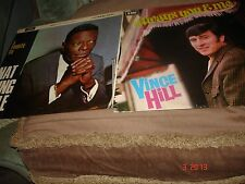 2 LPS  A TRIBUTE TO  NAT KING COLE   AND   VINCE HILL ALWAYS YOU AND ME