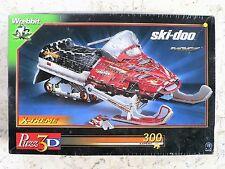 SEALED Wrebbit 3D Puzz SNOWMOBILE Ski-doo MXZ Extreme Expert NEW x-treme