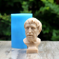 Nicole 3D Portrait Silicone Soap Mold Candle Mould DIY Plaster Clay Making Tool