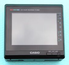 CASIO TV-8500V Pocket Television MINT CONDITION Vintage Retro Rare Made in Japan