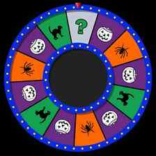 Hallowheel virtual trick-or-treat prize wheel for Halloween - Windows and MacOSX