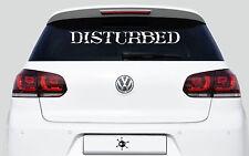Disturbed Logo Aufkleber 80 cm   Decal   Sticker   Heckscheibe   Haube