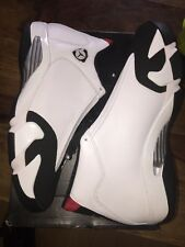 Air Jordan 14 Retro Black Toe Deadstock Size 8; 11 (41 ; 45)