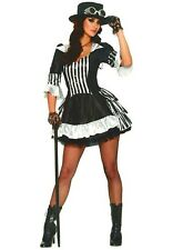 Steampunk Costume Victorian Dress Science Fiction Womens Adult Costume Small