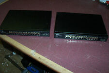 lot of 2 Dell PowerConnect 2724 24-Port Ethernet Network Switch