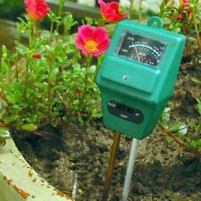 FC 3 in 1 PH Tester Soil Water Moisture Light Test Meter for Garden Plant Flower