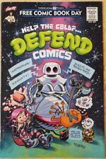 NEW Help The CBLDF DEFEND Comics FCBD Comic Book Legal Defense Fund