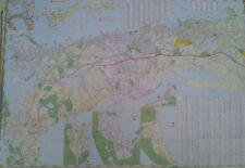 Cape Cod 27 x 39 Laminated Wall Map (G)