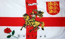 3' x 2' Rose Lion St George Cross Knight Flag English England Euro 2016 Banner