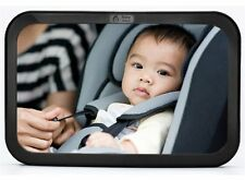 Back Seat Mirror - Rear View Baby Car Seat Mirror by Baby & Mom