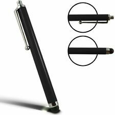 Pack of 4 Black Capacitive/Resistive Touchscreen Stylus Pen for Tablets Phones