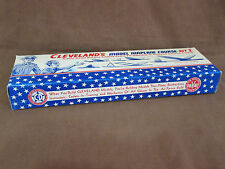 "5 NEW-OLD STOCK 1950's""CLEVELAND'S"" MODEL AIRPLANE BOXES-EMPTY,GREAT FOR DISPLAY"