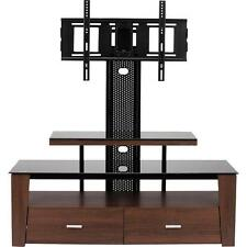 """Vidao FL6850S 63"""" TV Stand With Mount And Drawers"""