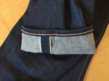 Levi's Men's 511 Selvedge Jeans 30/32 Eternal Day Raw Blue Denim
