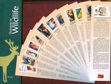 Bookmarks depicting stamps WILD LIFE, theme