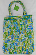 NWT Vera Bradley SLIM TOTE in ENGLISH MEADOW Bag Purse