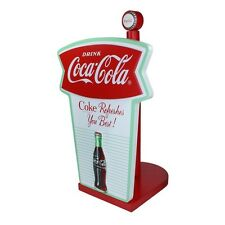 Coca-Cola Wood Fishtail Paper Towel Holder
