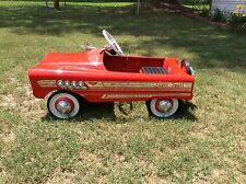 PEDAL CAR RED #508 AMF SUPERSPORT PEDAL CAR