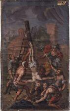 Kreuzigung Petri, Guache um 1700