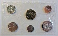 Canada / Kanada - 6 Coins 1 Cent - 1 Dollar - 1990  verblistert / sealed - stgl+