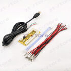 New NO Delay Arcade USB Encoder PC to joystick for 5pin+Japan Type Push buttons