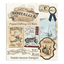 Debbi Moore Designs Nostalgia (Masculine) Papercrafting CD Rom (324989)