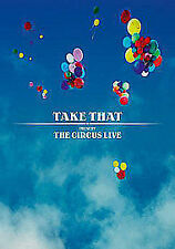 Take That - The Circus Live (DVD, 2009) Double Disc Limited Edition New & Sealed