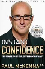 Instant Confidence by Paul McKenna (2016, Paperback)