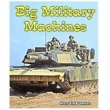 Big Military Machines (All about Big Machines)-ExLibrary