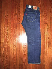 NEW $149 LEVIS ORIGINAL BUTTON FLY STRAIGHT LEG RED LINE SELVEDGE JEANS 40x29