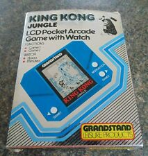 KING KONG JUNGLE GRANDSTAND LCD HANDHELD GAME LCD 1982 BOXED WORKING EPOCH