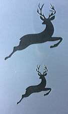 Deer Stag Reindeer Jumping Mylar Reusable Stencil Airbrush Painting Art Craft