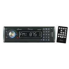 AM/FM-MPX In-Dash Marine Detachable Face Radio CD/SD/MMC/USB Player