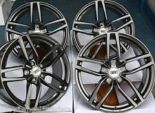 "17"" GM DRC DRS ALLOY WHEELS FIT 5X98 ALFA ROMEO 147 156 164 GT FIAT 500L DOBLO"
