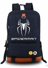 Spiderman Backpack School Bag Children Student Boys Girls Luminous Design
