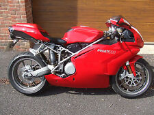 2002/52 Ducati 999 Biposto with 17,400m in Red
