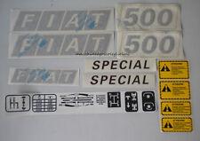 Serie Decacolmania-Adesivi Per Trattore Fiat 500 Special....