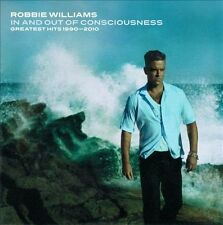 ROBBIE WILLIAMS In And Out Of Consciousness The Greatest Hits 1990-2010 2CD NEW