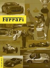 "2011 FERRARI YEARBOOK / OFFCIAL MAGAZINE ISSUE ""15""  FROILAN GONZALEZ 4068/11"